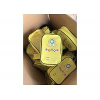 China Modern Customized Printed Zipper Yellow PVC Bag For Carrying Toolkit on sale