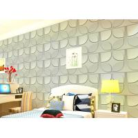 China Christmas Decoration 3D Living Room Wallpaper , 3D Effect Wall Panels for Theatre wholesale