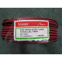 China PVC Insulated Parallel-Twin Specialty Wire and Cable with Different Insution Color wholesale