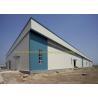 China Waterproof Warehouse Steel Structure Grade Q235B / Q345B Prefab Warehouse wholesale