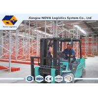 China Cost Effective Pallet Warehouse Racking With Durable Steel / Epoxy Powder Coated wholesale
