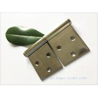 China Detachable Brass Lift Off Hinges , Barrel Lift Off Shutter Hinges  Nickel Plated wholesale