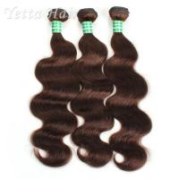 China Fashionable Real Unprocessed Brazilian Curly Hair Weave / 7A Hair Extensions With Smooth wholesale