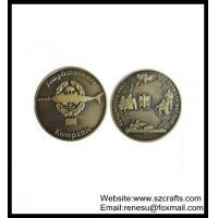 China Cheap Bitcoin gift promotion soft brass commemorative coin wholesale