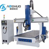 China China Servo Motor 1325  woodworking Cnc Router Machine 4 Axis Engraving Machine 1300*2500*200mm wholesale