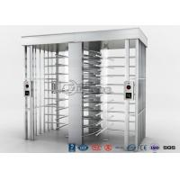 China Automatic Security Full Height Turnstile Double Lane With Impact Resistance wholesale