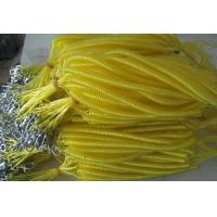 China Yellow cool color cute high quality strong pulling anti-drop safety line coiled lanyards wholesale