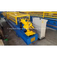 China PLC Control System U Purlin Roll Forming Machine For Ancient Architectures wholesale