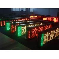 China GIF Animation Picture Display Programmable LED Signs Indoor RS232 1 / 4 Constant Current wholesale