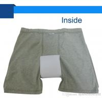 Quality Cotton Adult Washable Incontinence Briefs With Pad For Men for sale