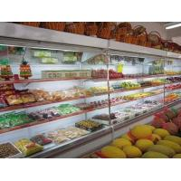 China Fruits Display Commercial Refrigerator Multideck Open Chiller White 2.5 Meter wholesale
