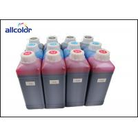 China CMYK White Hp Printer Pigment Based Ink  DTG Textile Ink / T Shirt Printing Ink wholesale
