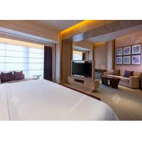 Quality Modern Hotel Bedroom Furniture Sets In Plywood With Wilsonart HPL Finish for sale