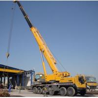 China High Speed 3 - 25 Ton Telescopic Boom Truck Crane For Loading And Unloading wholesale