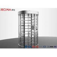 China Double Lane Pedestrian Turnstile Gate DC 24 V Brush Motor With Automatic Coin Operated wholesale