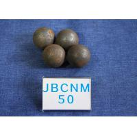 China High Precision Steel Balls For Ball Mill , Small Steel Ball Mill for Coal Production D50mm Surface Hardness 62-63HRC wholesale