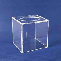 Quality Clear Acrylic Tissue Box for sale