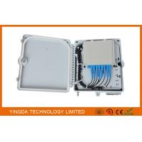 Buy cheap 12 Cores Fiber Distribution Box , Optical Splitter Module Junction Box for FTTH IP65 product