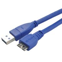 China Blue Round USB3.0 Charging & Syncing Cable to Micro USB Cable wholesale