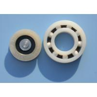 China POM / PA66 High Precision Plastic Plain Bearings With Glass Stainless Balls wholesale
