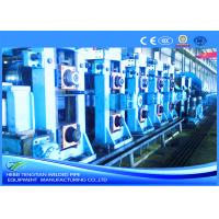 China Full Automatic Square Tube Mill FF Forming For 200 × 200mm Pipe Customized Design wholesale