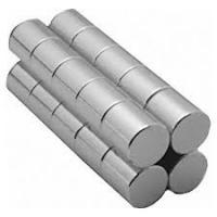 China N series ( N33-N50 ) Quadrupole Neodymium Cylinder Magnets N52 with Epoxy Coating on sale