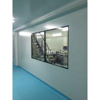 China Hospital Modular Clean Room 5mm Tempered Glass Double Glazing Window Aluminum Frame wholesale