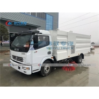 China Dongfeng 4X2 Left Hand Drive Vacuum Street Sweeper Truck wholesale