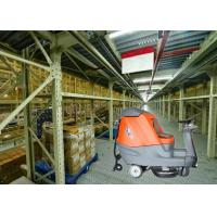 China Big Shape Battery Powered Floor Scrubber Dryer Machine To Clean Larger Warehouse Or Shopping Mall wholesale