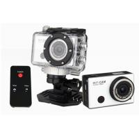 China Black Wifi 1080P Action Camera Remote Control Helmet Action Cameras with Changeable Battery wholesale