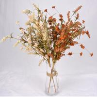 China The simulation flower,Artificial flowers,Crepe paper grass flower ,Dried flowers, hardcore cotton ,pine cone wholesale