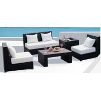 China 6pcs leisure rattan outdoor sofa sigle chairs loveseat end table coffee table  --9006 wholesale