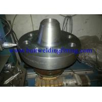 China Custom Silver ASTM / ASME Forged Steel Flanges Long Weld Neck Flanges Type on sale