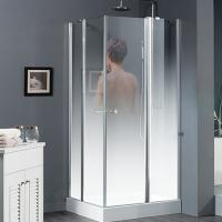 China China high quality safety tempered glass shower door supplier wholesale