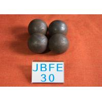 Quality D30MM 62-63hrc Solid Ball Mill Steel Balls for Mine Machinery , Grinding for sale