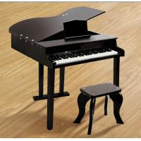 China 49 Key Classic Mini Grand Toy Wooden Piano Black For Toddlers FW49 wholesale