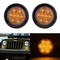 China Clear Lens Front Car Turn Signal Lights , IP68 Led Turn Signal Lights For Trucks wholesale