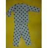 China Rayon Spandex Children'S Cotton Pajamas Polka Dot Pajama Set Playwear 2pc wholesale