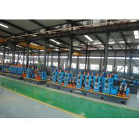 Quality High Speed Efficiency Capacity ERW Pipe Mill Round & Square Pipe Tube Mill Line for sale