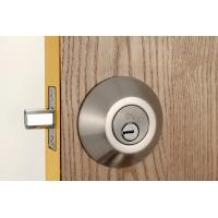 China Stainless Steel Metal Sliding Door Locks Single Cylinder Deadbolt 3 Same Brass Keys wholesale