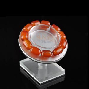 China Floor Custom Jewellery Display Stands Slanting Acrylic Storage TraysBracelet Holders wholesale