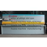 China China Made Competitive Price 4*3200 Q235 Hydraulic Swing Beam Shearing Machine Specifications wholesale
