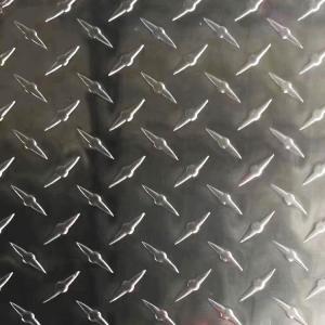China 1000 Series 1060 Aluminum Tread Plate Checkered Sheet wholesale