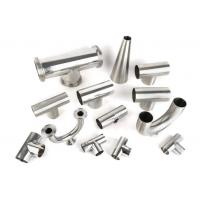 China Mirror polished sanitary stainless steel pipe fitting Material 3A/DIN/SMS/ID SS304,SS316-Accesorios sanitarios wholesale
