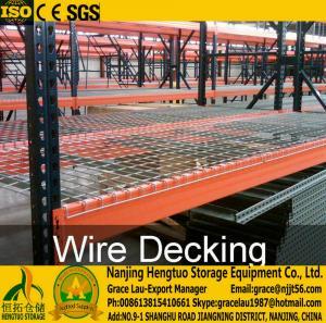 China Wire Mesh Decks , Wire Mesh Decking for Racks, Racks wire decks , Galvanized wire mesh decks, steel wire mesh decking wholesale