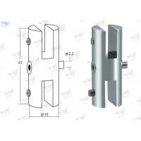 China Silver Cable Hanging System Double Sided Clamp Brass Material Panel Clamps wholesale