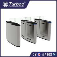 China 1.5mm SUS 304 brushed motor driven acrylic sliding gate with 5 pairs of infrared sensor wholesale
