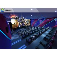 Quality Smart Impressive 4D Movie Theater With first class electronic seat for sale