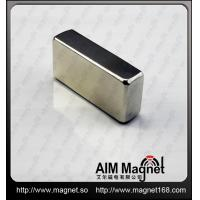 China Strong N35 block shaped ndfeb magnet wholesale
