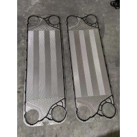 China Equal with sondex S62  EPDM gasket with heat exchanger plate for juice equipment on sale